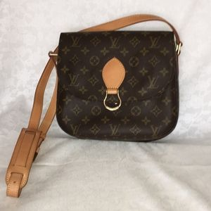 LOUIS VUITTON Monogram Saint Cloud MM Bag
